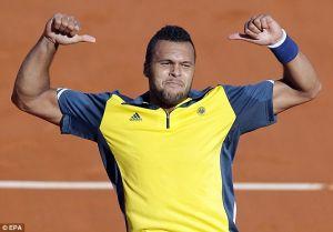 ATP M1000 Madrid : Ca passe pour Tsonga, pas pour Gasquet