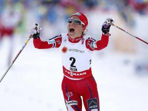 Falun 2015, Skiathlon a Vylegzhanin e Johaug