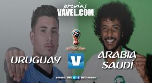 Previa Uruguay vs Arabia Saudí: los 'charrúas' quieren vencer a la floja Arabia