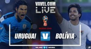 Resultado Uruguai x Bolívia nas Eliminatórias para Copa do Mundo 2018 (4-2)