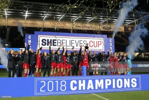 USA defeat England to lift SheBelieves Cup as Neville suffers first defeat