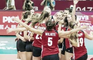 Volley F - Nel secondo incontro del World Grand Prix l'Italia perde nettamente contro gli Usa