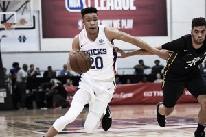 Kevin Knox is making a name for himself early on