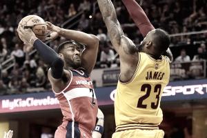 NBA - Wizards corsari a Cleveland, battuti i Cavaliers