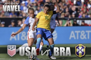 United States vs Brazil: Final game of Tournament of Nations sees historic rivals faceoff to end tournament