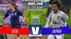 USWNT 4 -2 Japan in 2018 Tournament of Nations