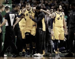 Gobert y Favors, lesionados en la victoria de Jazz ante Celtics