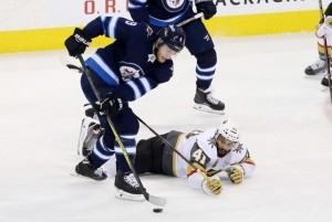 Winnipeg takes strange Western Conference Final Game 1