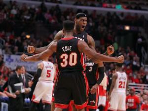 Bosh, James carry Heat to Game 3 win