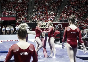 NCAA Gymnastics: Utah edge UCLA in a highly charged meet