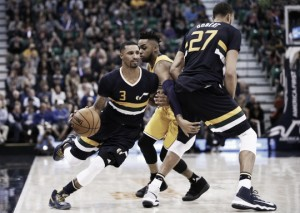 Los Angeles Lakers cannot complete comeback, lose 96-89 to Utah Jazz
