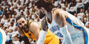 NBA - Mitchell si infiamma nel quarto periodo ed i Jazz impattano la serie con i Thunder (1-1)