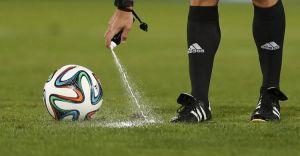 El spray llega al fútbol colombiano