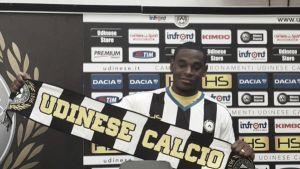 Duván Zapata fue presentado en el Udinese