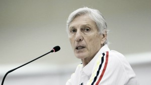 """José Pékerman: """"James está descartado contra Paraguay"""""""
