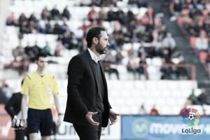 """Vicente Moreno: """"Esperemos que los tres puntos se queden en casa"""""""