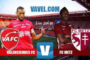 Revivezle match Valenciennes FC - FC Metz en direct commenté (2-1)