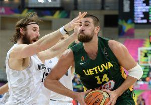 Basket, Mondiali Spagna 2014: Valanciunas salva una pessima Lituania