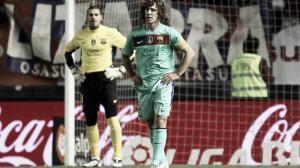 El Barcelona encaja tres goles tres años después en Liga