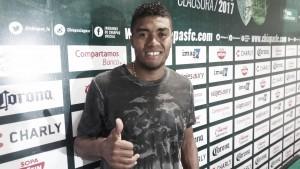 Carlos Valencia, contento de llegar a Chiapas