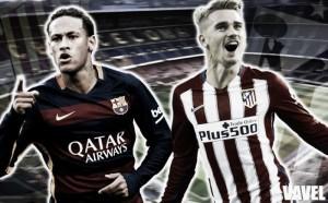 Neymar vs. Griezmann: batalla de gallos en el Camp Nou