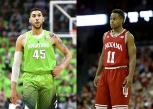 Indiana Hoosiers Hit Road For Tough Valentine's Day Test At Michigan State Spartans