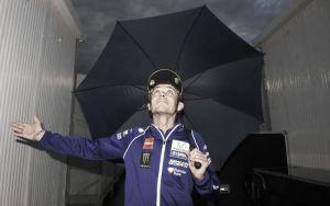 """Valentino Rossi: """"Fue una verdadera lástima no poder rodar"""""""