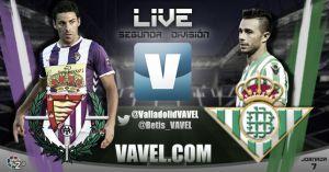 Real Valladolid - Real Betis en directo online