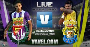 Real Valladolid - UD Las Palmas en directo online