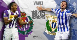 Real Valladolid - Leganés: una victoria para mirar hacia arriba