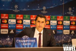 """Valverde: """"Vamos a codearnos con los mejores de Europa"""""""