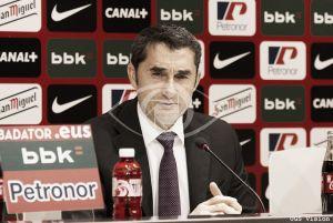 """Valverde: """"Nos estamos jugando mucho en Liga"""""""