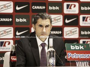 """Valverde: """"El gol ha venido en un accidente, pero no hemos estado bien"""""""