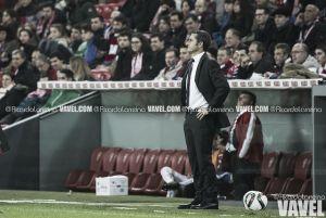 """Valverde: """" El partido ha sido mas abierto de lo que refleja el marcador"""""""