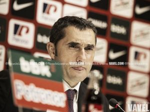 """Valverde: """"Una victoria nos habría impulsado más, pero sabemos cuál es el camino"""""""