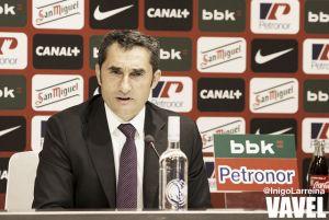 """Valverde: """"Ganar el viernes nos haría mirar un poco más arriba"""""""