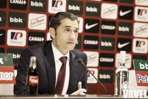 """Valverde: """"Tenemos problemas en la salida del juego y nos puede costar caro"""""""