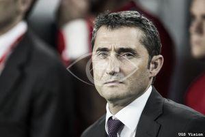 """Valverde: """"Estamos dolidos por no poder compensar a nuestra afición"""""""