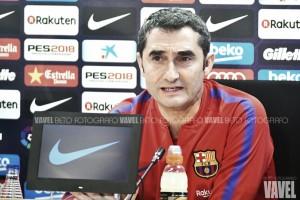 """Ernesto Valverde: """"Los tres puntos son importantes, pero no es una final"""""""