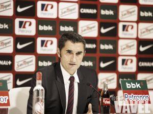 """Ernesto Valverde: """"Confiamos en mantener la buena racha"""""""