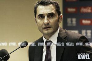 """Ernesto Valverde: """"En el segundo tiempo hemos jugado con más decisión"""""""