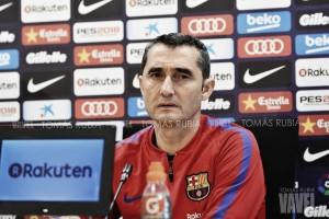 """Ernesto Valverde: """"No pensamos en el triplete"""""""