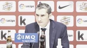 """Valverde: """"Esto continúa, quedan muchos puntos y muchos partidos"""""""