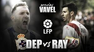 Deportivo - Rayo: rachas, maldiciones y caras nuevas