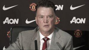 """Van Gaal: """"Estoy descontento con el resultado, pero contento con el juego"""""""