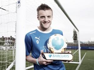 Jamie Vardy, mejor jugador de la temporada en la Barclays Premier League