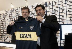 Rodolfo Arruabarrena é apresentado como novo técnico do Boca Juniors
