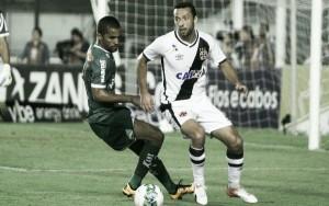 Vasco tropeça em casa contra Luverdense, mas permanece no G-4