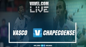 Resultado Vasco x Chapecoensepelo Campeonato Brasileiro 2017 (1-1)