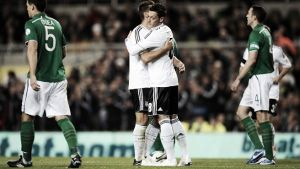 Alemania - Irlanda: Robbie Keane pone en jaque a la tetracampeona